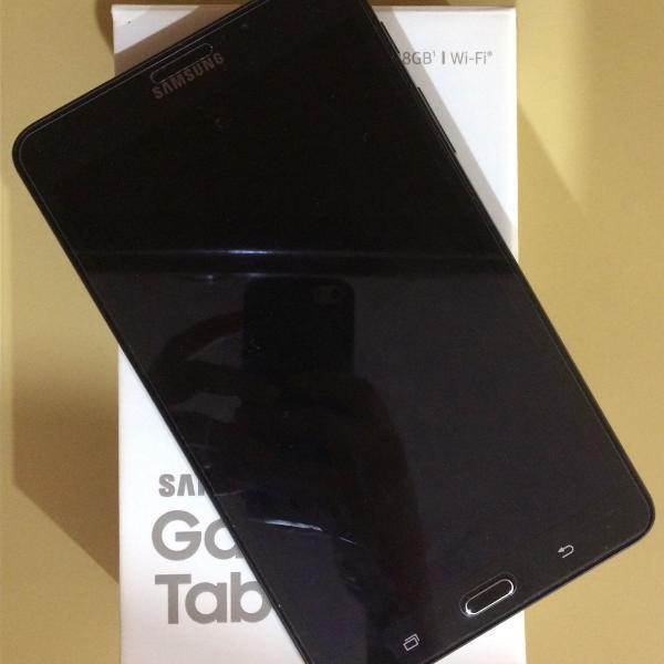 Tablet samsung galaxy tab a6 - maravilhoso! + capinha!