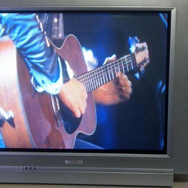 """Tv philips 29"""" tela plana real flat em ótimo estado, tudo"""