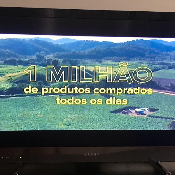 Tv sony 32 polegadas + conversor digital