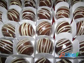 Promoção doces, salgados ou bombons por apenas 50,00 o cento