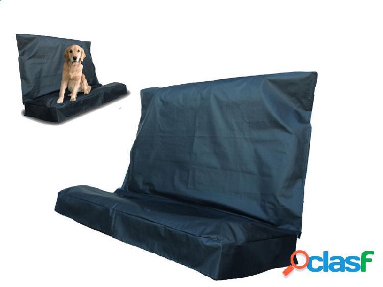 Capa protetora banco traseiro pet cães animais impermeável