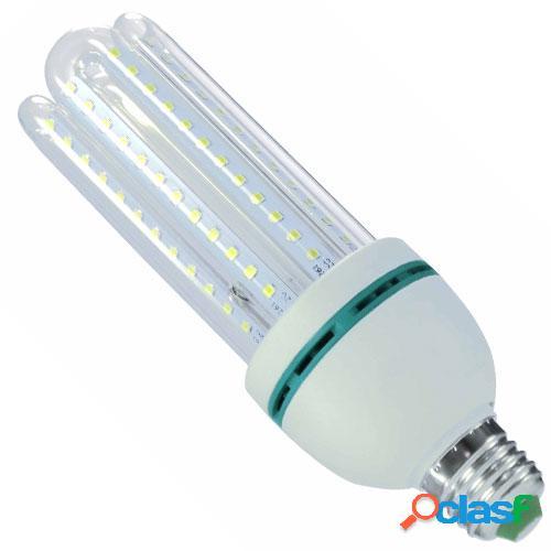 Lâmpada Super Led 16W Econômica Bivolt E27 Branco Quente