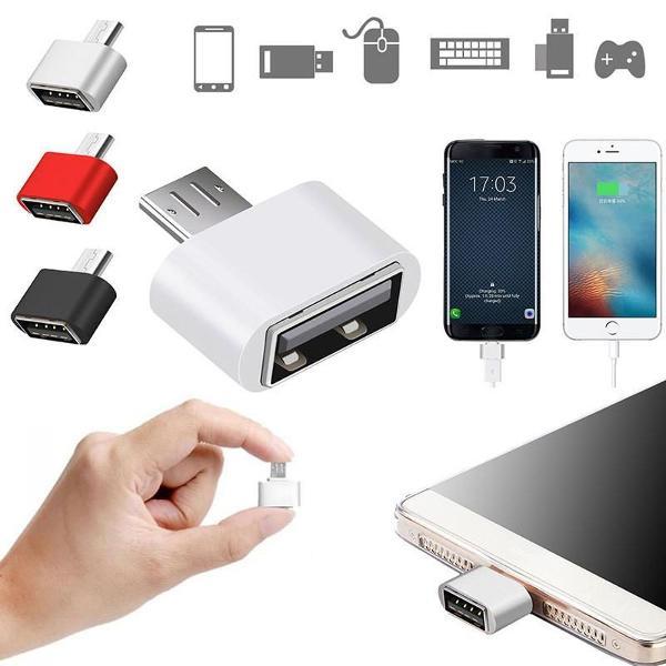 3mini micro usb para usb otg adapter converter para android