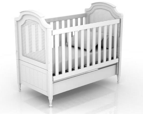 Berço quater classic - vira mini cama