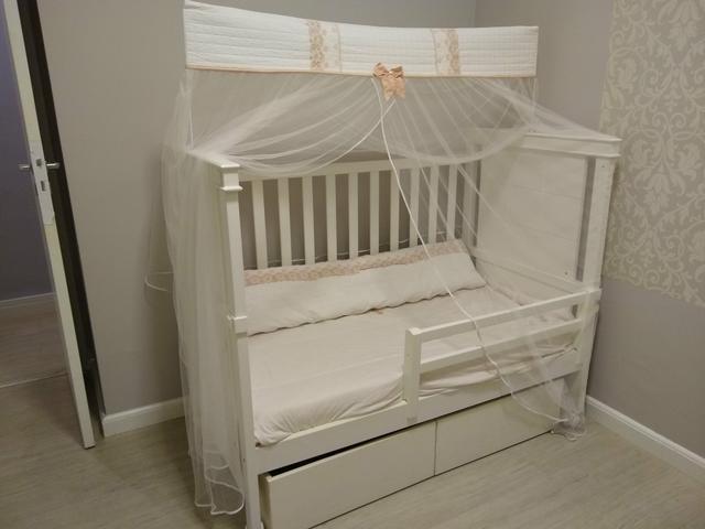 Berço e mini cama