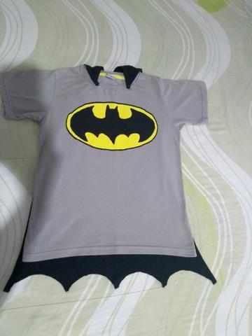 Blusa do batman infantil com duas capas