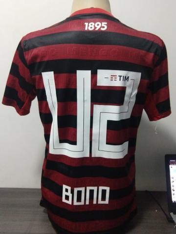 Camisa flamengo personalizada com nome e número