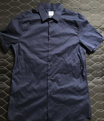 Camisa manga curta zara