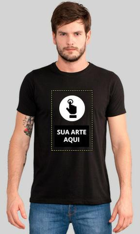 Camisas personalizadas com a arte, foto, logo e texto que