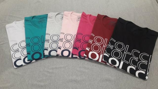 Camisetas ellus, colcci, hurley todas de aldodão malha 30.1