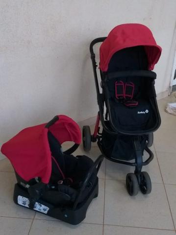 Carrinho com bebê conforto mobi safety 1st