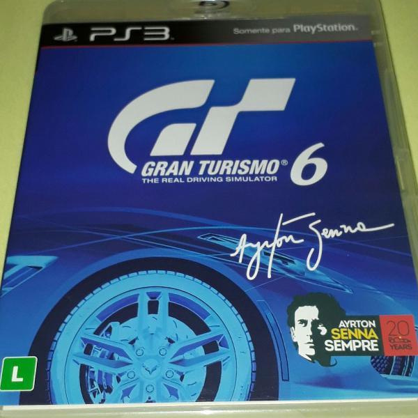 Grand Turismo 6 para ps 3