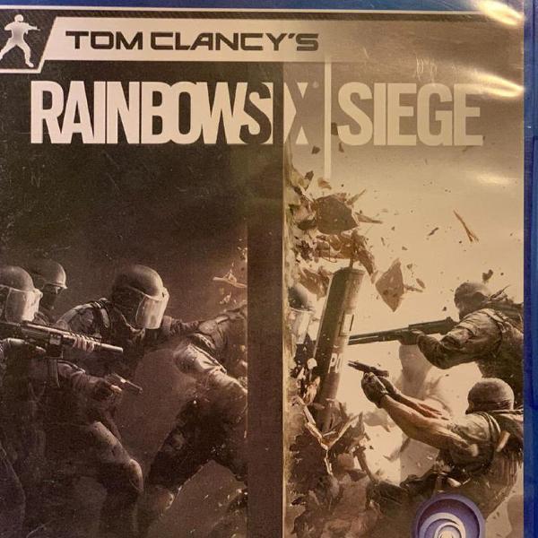 Jogo ps4 game - tom clancys rainbow six siege - ps4