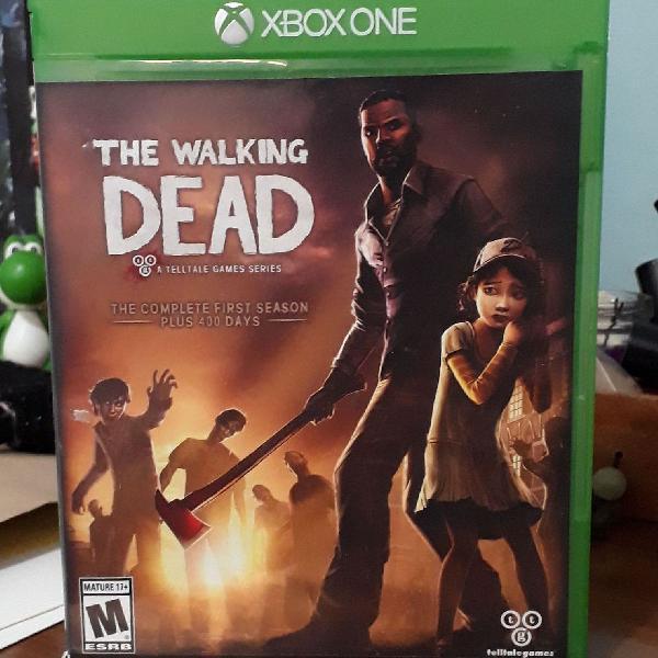 Jogo the walking dead - xbox one