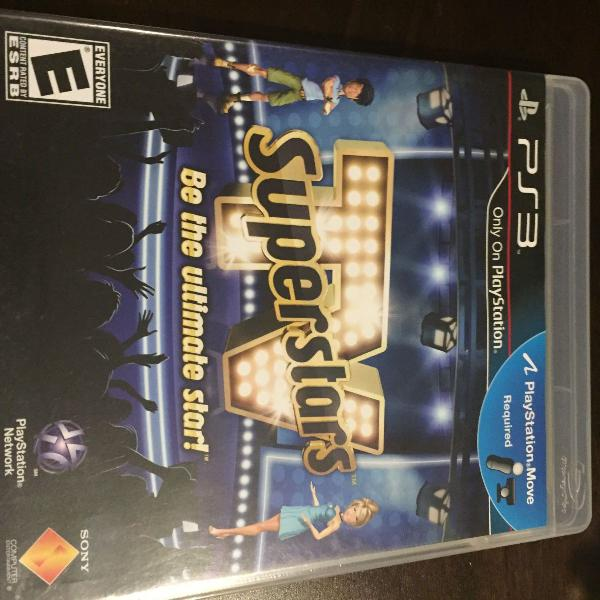 Jogo para ps3 - tv superstars - be the ultimate star!