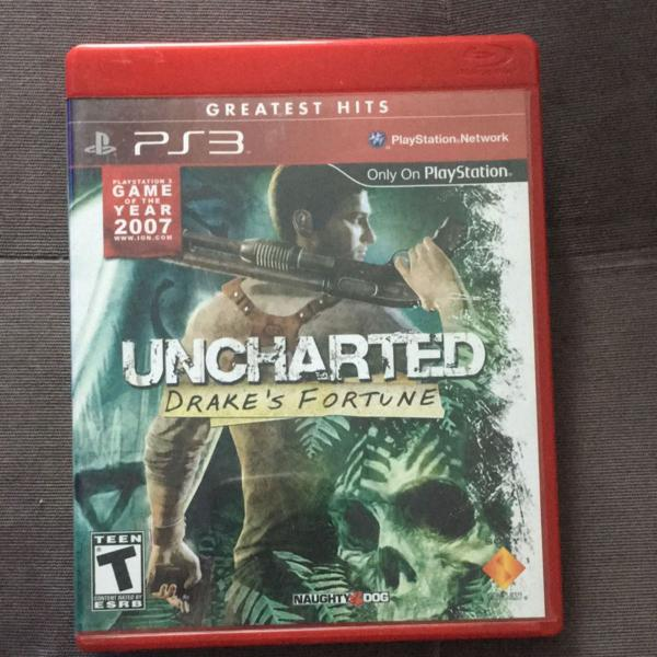 Jogos uncharted playstation 3