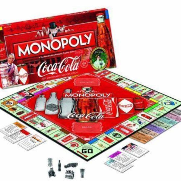 Novo monopoly coca cola