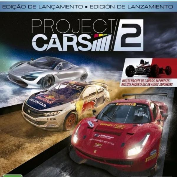Project cars 2 ps4 mídia física