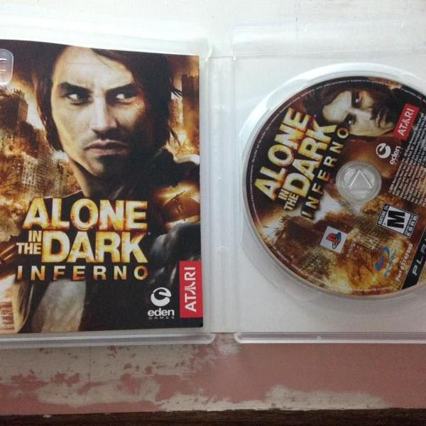 Alone in the dark inferno midia fisica ps3 playstation r$89