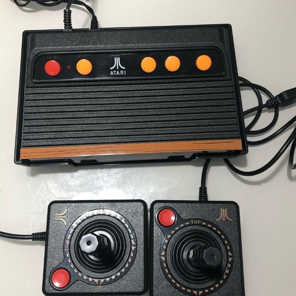 Atari flashback 8 novo... usado somente uma vez
