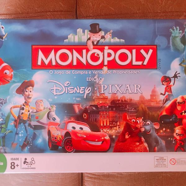 Banco imobiliário monopoly disney pixar
