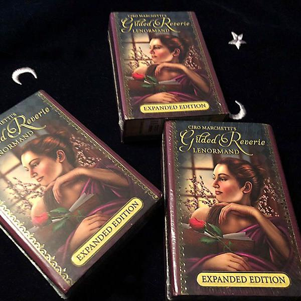 Baralho cigano gilded reverie lenormand expanded edition