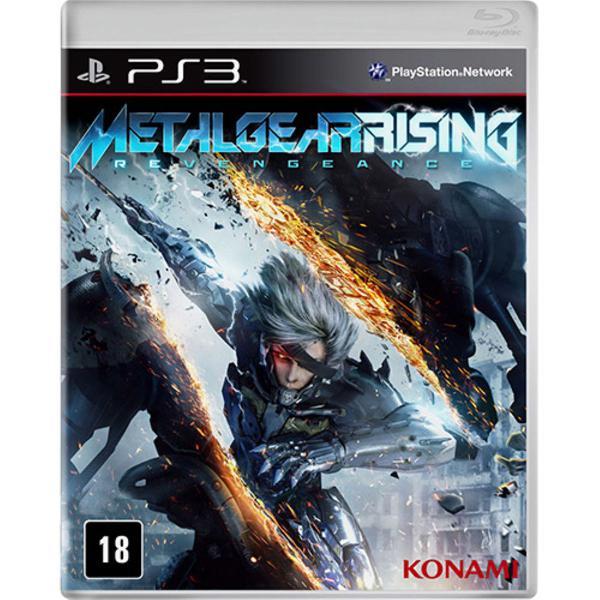 Bora jogar! jogo metal gear rising revengeance ps3 mídia