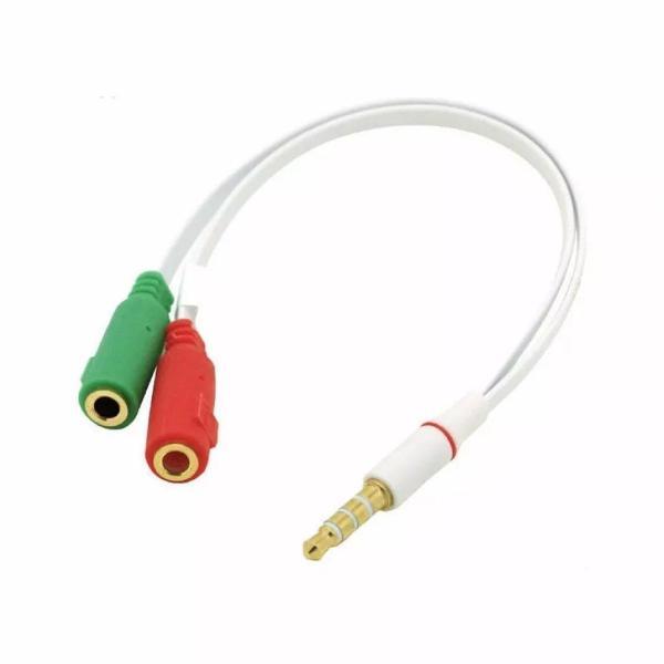 Cabo adaptador p3 para headset