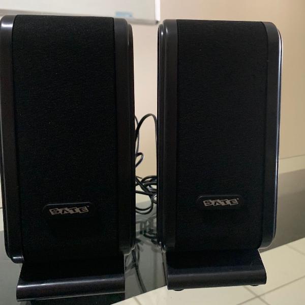 Caixa de som para computador satellite