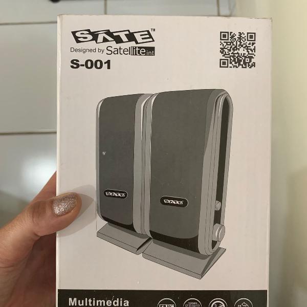 Caixa de som para computador satellite s-001