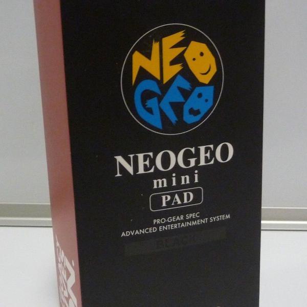 Controle neo geo mini pad preto novo + garantia