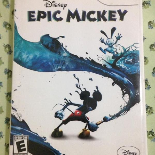 Epic mickey disney nintendo wii ótimo estado r$120