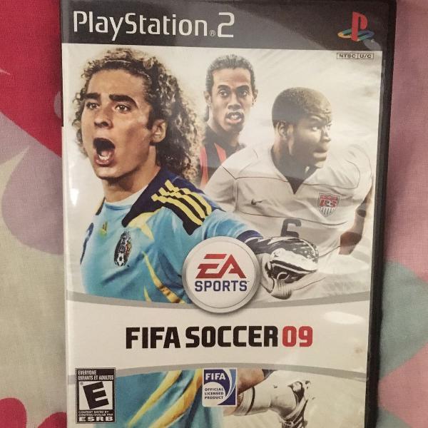 Fifa soccer 09 playstation 2 original