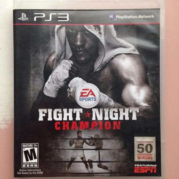 Fight night champion sony playstation 3 ps3 completo r$80