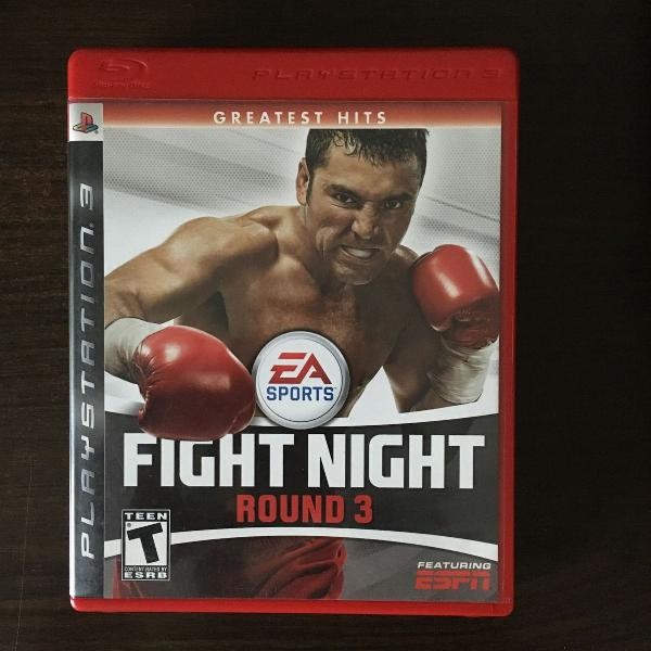 Fight night - ps3