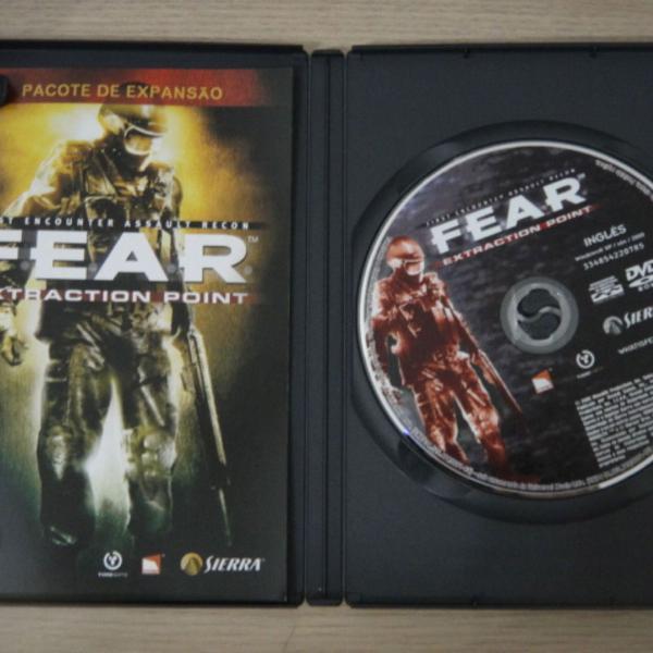 Game pc mídia física original - fear extraction point