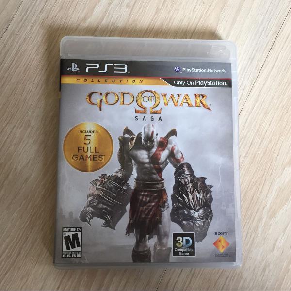 God of war - saga - 2 cds