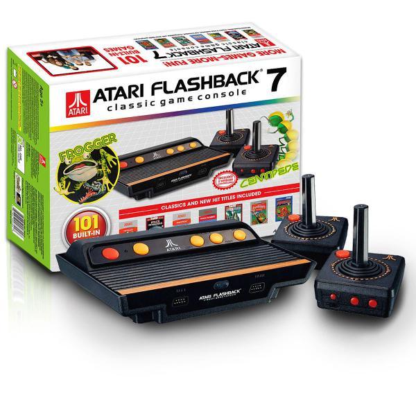 Joga joga! atari flashaback 7 classic game console 101 jogos