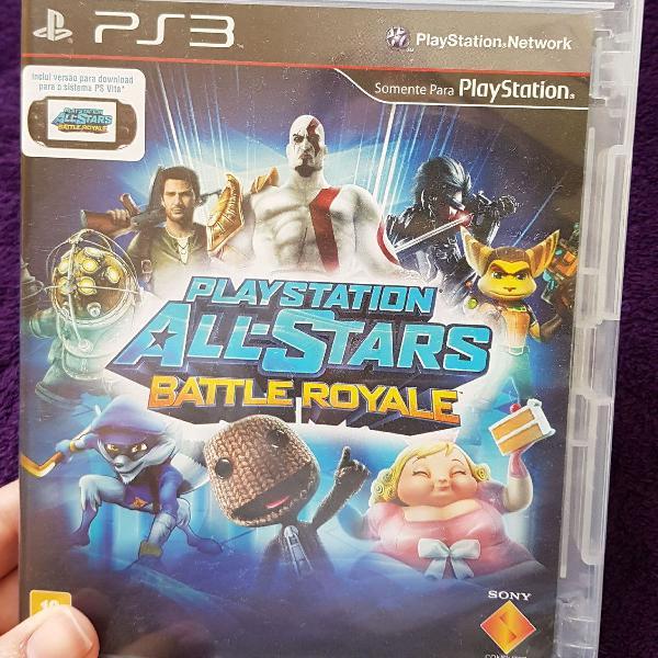 Jogo playstation ali stars battle royale para ps3