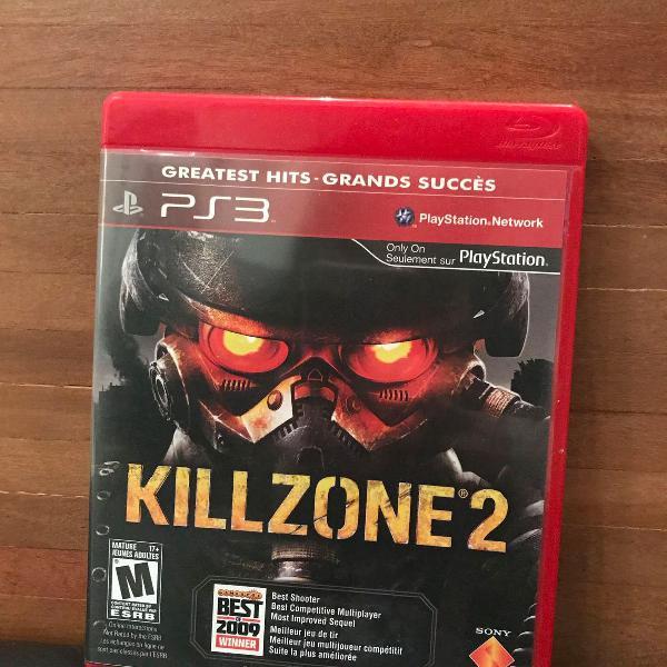 Jogo killzone 2 para ps3