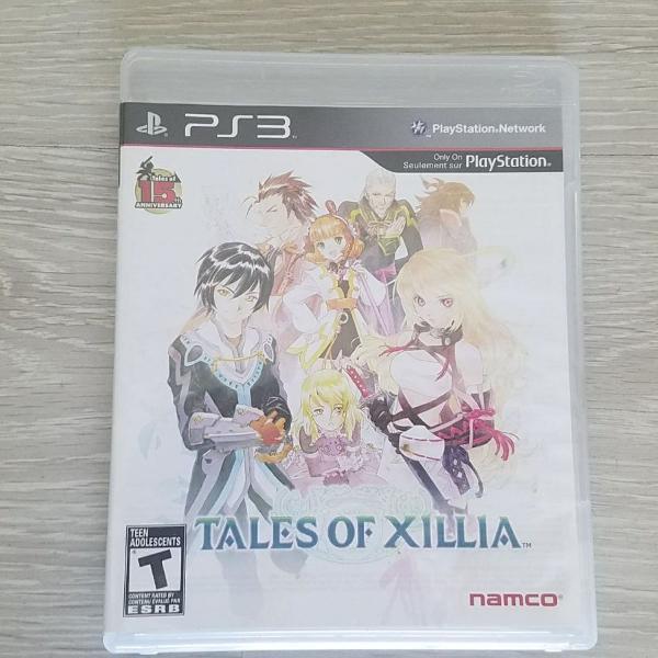 Jogo original de ps3 tales of xillia. mídia física