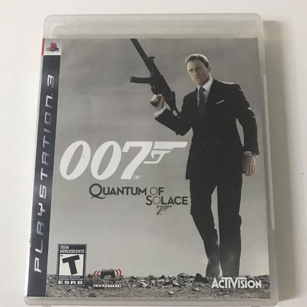 Jogo original para ps3 007 quantum of solace