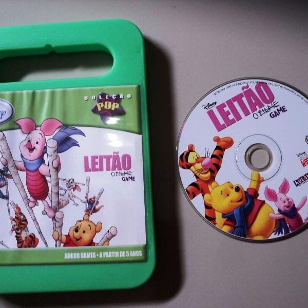 Jogo pc original junior games - leitão game - coleção pop
