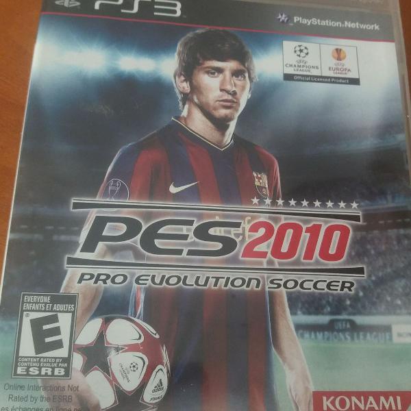 jogo pes 2010 ps3