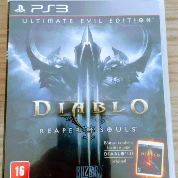 Jogo playstation 3 - diablo iii reaper of souls