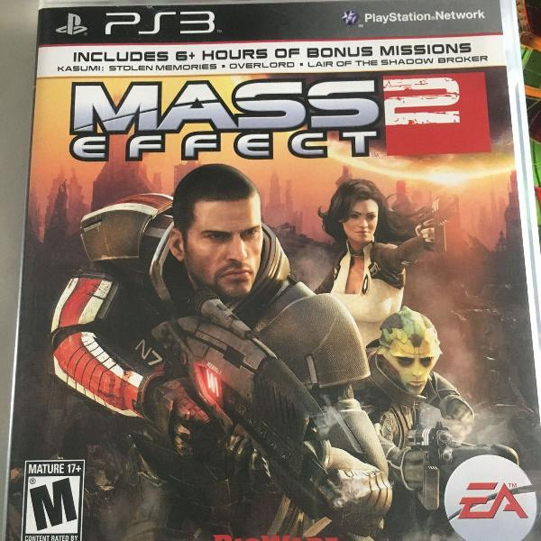 jogo ps3 - mass effect 2 - original