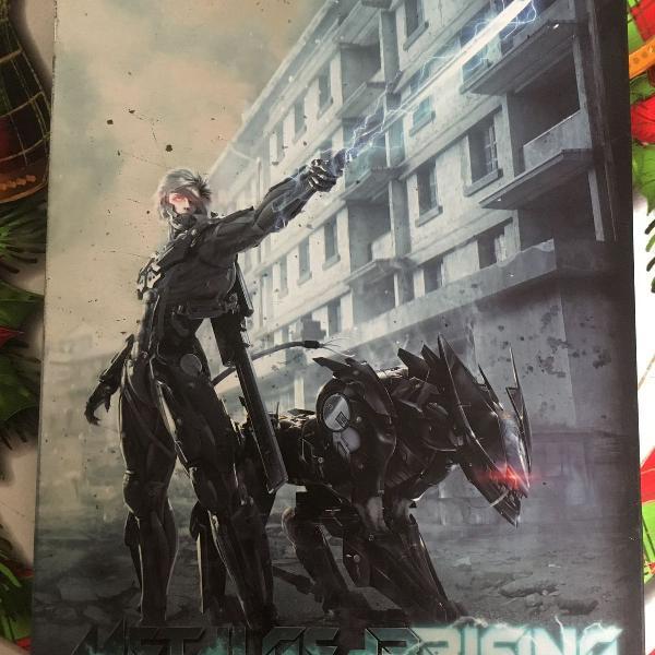 jogo ps3 metal gear rising revengeance edição de