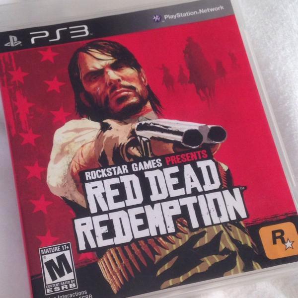 Jogo ps3 red dead redemption