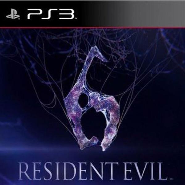 Jogo ps3: resident evil 6