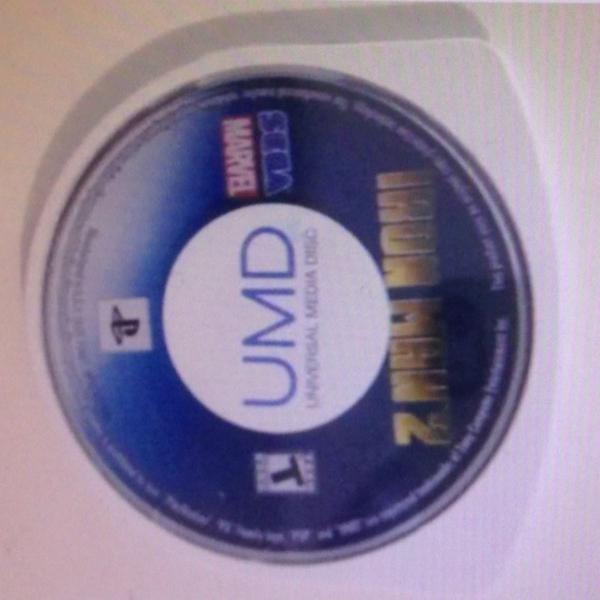 Jogo psp ironman 2 sega só o disco umd r$59